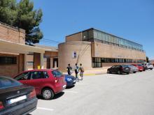 Fachada FP Vehículos, Despachos y Secretaría,- Recinto ESO